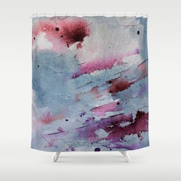 Remains of elderberry soup Shower Curtain