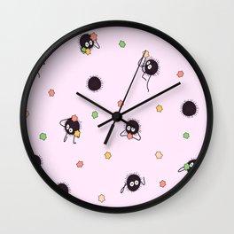 Soot sprites - Chihiro Wall Clock
