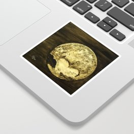 Universal Love from Pluto Sticker