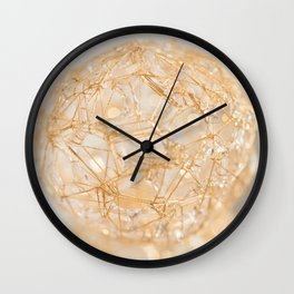 Soft Sphere Wall Clock