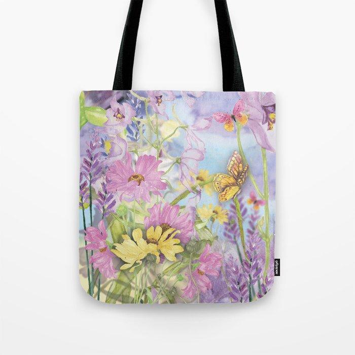 Macro Flower #19 Tote Bag