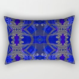 Boujee Boho Harmonic Indigo Color Therapy Rectangular Pillow