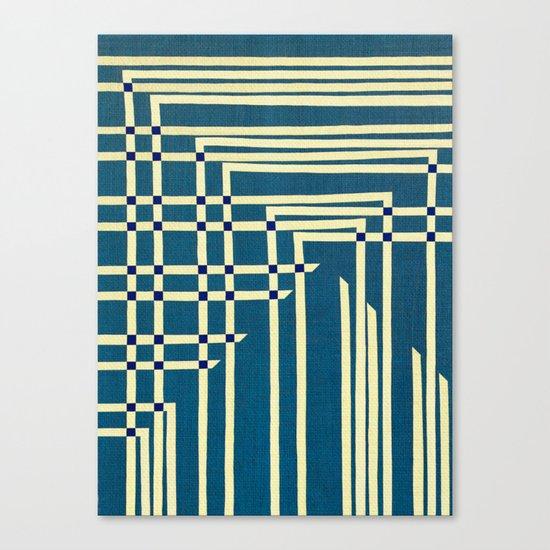 Circuit Board Canvas Print