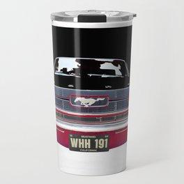 Vintage American Classic Car USA Travel Mug