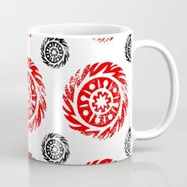 Sun mandala pattern Coffee Mug