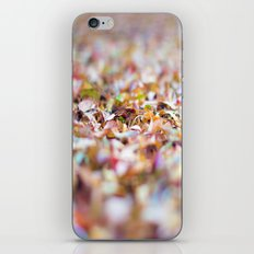 Summer Leaves Abstract iPhone & iPod Skin