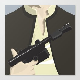 Han Solo - Starwars Canvas Print