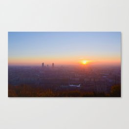 As the day is beginning Canvas Print