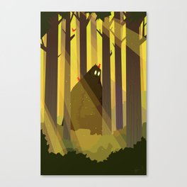 Sasquatch Canvas Print