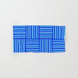 Havana Cabana - Blue Weave Stripe Hand & Bath Towel