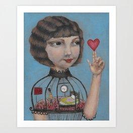 The Heart Keeper Art Print