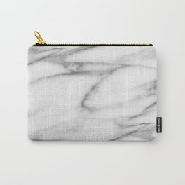 Pentelic grey marble Carry-All Pouch