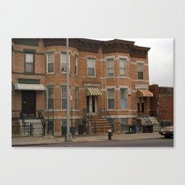 Brooklyn House 2001 #3 Canvas Print
