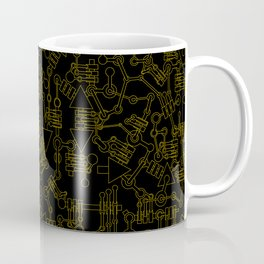 Mecanic Pattern Coffee Mug