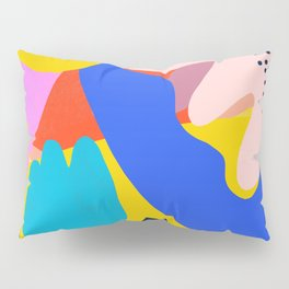 Unbridled Enthusiasm - Shapes and Layers no.38 Pillow Sham