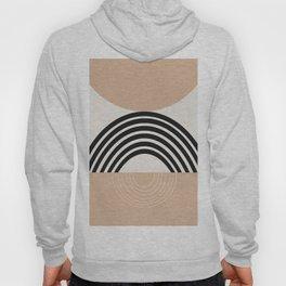 Warm Beige Sun Arch Balance #1 #minimal #abstract #art #society6 Hoody