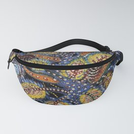 Blue Leaves of Autumn by Seraphine Louis Fanny Pack