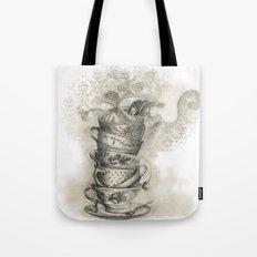 Tea bath Tote Bag