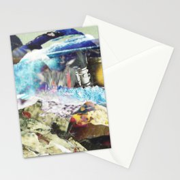 There is Another Country That is in the Middle of the World Stationery Cards