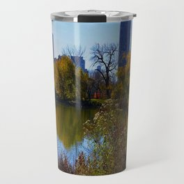 Chicago Fall Reflection (Chicago North Pond Collection) Travel Mug