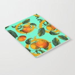 Vintage Fruit Pattern III Notebook