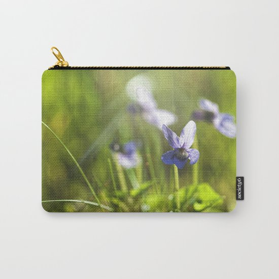 Sweet viola in LOVE Carry-All Pouch