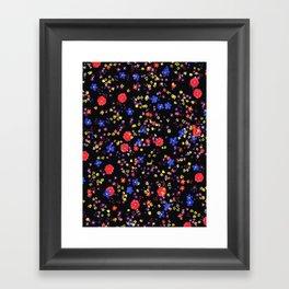little flowers Framed Art Print