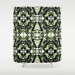 """""""ABC"""" The Great Alphabet Pattern. Shower Curtain"""