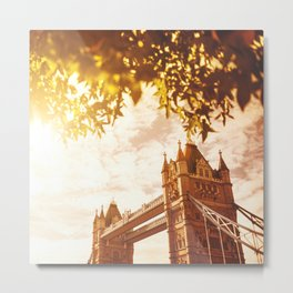 tower bridge in london Metal Print