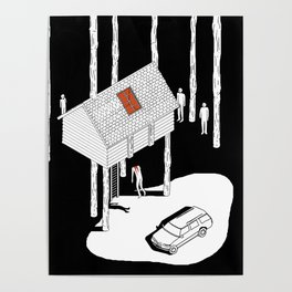 Hereditary by Ari Aster and A24 Studios Poster