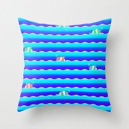 SEAWAY Throw Pillow