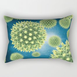 Pollen allergy Rectangular Pillow