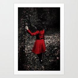 Red Riding Hood 1 Art Print