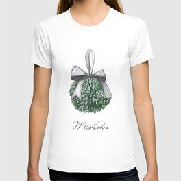 Kiss Me Under the Mistletoe T-shirt