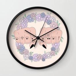 Girl Power 2018 Wall Clock