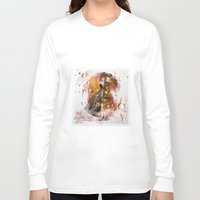 champagne Long Sleeve T-shirts featuring champagne by Nathalie56