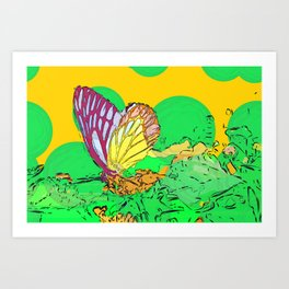 The Theory of Chaos Art Print