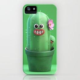 Happy Cactus iPhone Case