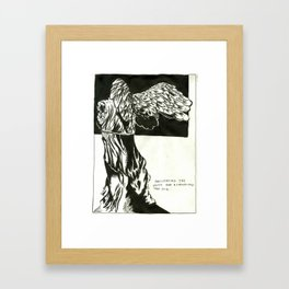 Facillitation Framed Art Print