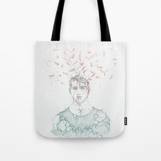 Data Fragmentation  Tote Bag