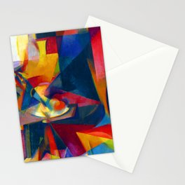 Stanton Macdonald Wright Synchromy III Stationery Cards