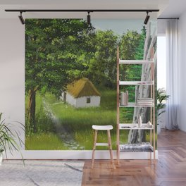 Hause in Forest 1 Wall Mural