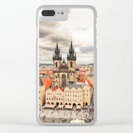 PRAGUE 3 Clear iPhone Case