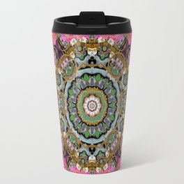 roses in a color cascade of freedom and peace Travel Mug
