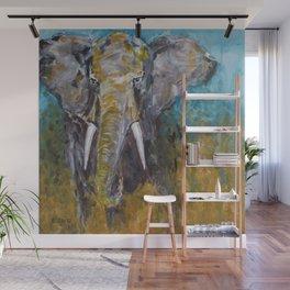 African Elephant Bull Wall Mural