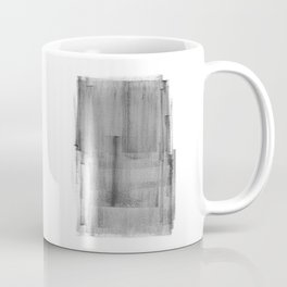 Abstract Watercolor Painting Black and White Wall Art Print Scandinavian Ink Living Room Decor Coffee Mug