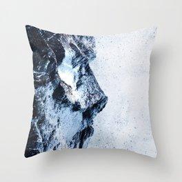 King of the mountains Throw Pillow