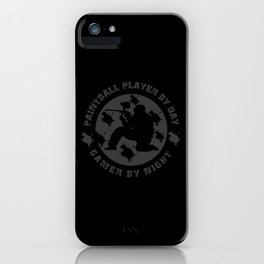 Great Paintball Design For Outdoor Gotcha Players iPhone Case
