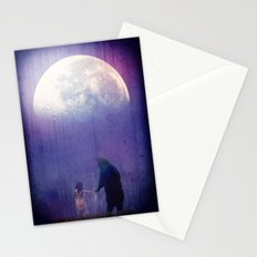 Follow your inner moonlight Stationery Cards