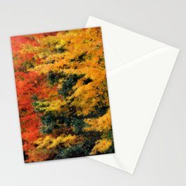 Massachusetts - Autumn Colors Stationery Cards